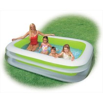 Inflatable swimming pool 'Family Pool Groen'