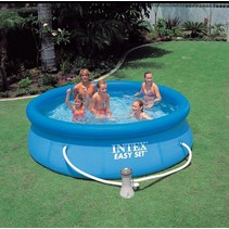 Easy Set swimming pool 305 x 76 cm (with 12-volt filter pump)