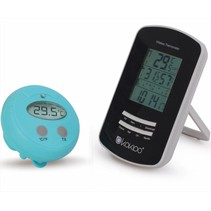 Wireless thermometer swimming pool