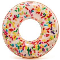 Inflatable sprinkles donut