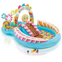 Swimming pool play center 'candyland'