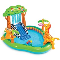 Swimming pool play center 'jungle'