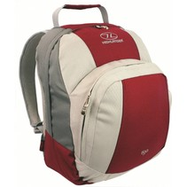 Tiga backpack red