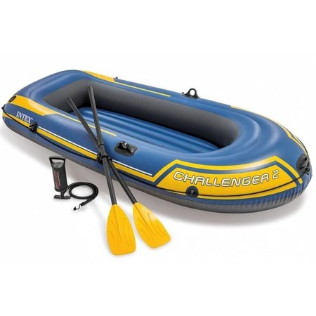 Intex Challenger 2 Set - With paddles and pump