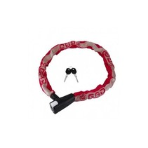 Chain lock Gad Anitro - 8 * 8 * 1100mm - Red
