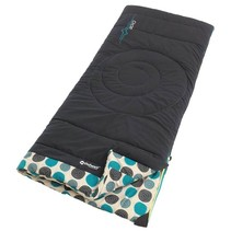 Circles child's sleeping bag - navy