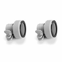 Connectors swimming pool hose 32/38 mm
