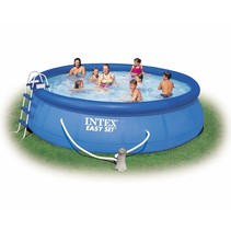 Easy set of swimming pool 457 x 84 including filter pump