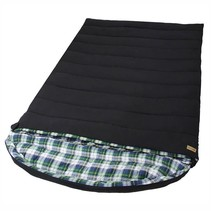 Tundra Double sleeping bag - black