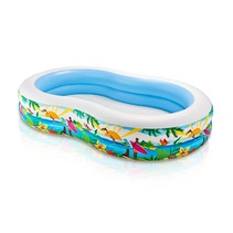 Beach friends inflatable swimming pool