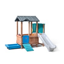 Woodland Adventure Playhouse & Rutsche