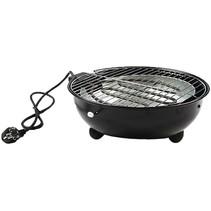 Elektrische tafel barbecue zwart