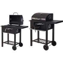 Luxury charcoal barbecue