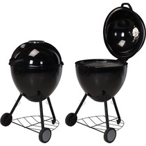 Luxury charcoal barbecue XL