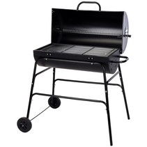 Charcoal barbecue cylinder shape XL