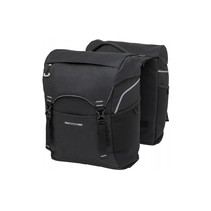 Double luggage carrier bag Sports Double Racktime - 32 liters - black