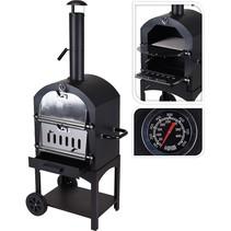 Pizza oven - Barbecue - 48x68x156cm
