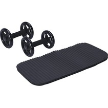 Training wheels - 2 pieces - with knee pad