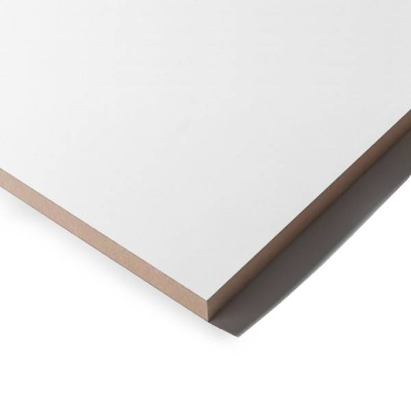 MDF wit gegrond - 9 mm - 244x122 cm - MDF prime tweezijdig wit - PEFC 70%