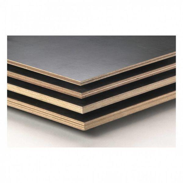Betonplex plaat 18 mm 250x125 cm - Betonmultiplex Aziatisch hardhout mix