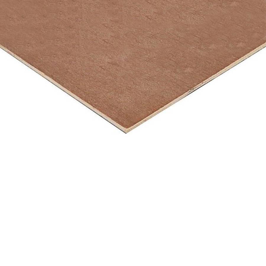 Starplex WBP multiplex plaat 3,6 mm 244x122 cm - Mix hardhout BB/CC - fineren roodbruin - FSC