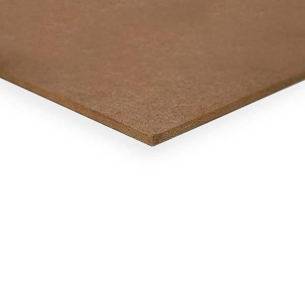 MDF plaat 6 mm 244x122 cm - E1 naaldhout - onbehandeld glad geschuurd