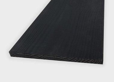 Zwarte douglas planken