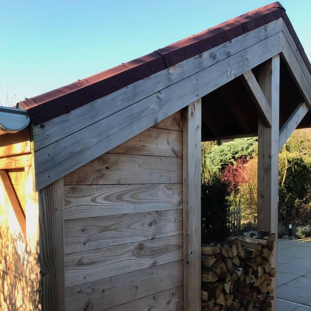 Douglas vellingdeel 18x143mm - geschaafd en gedroogd 20% douglas hout