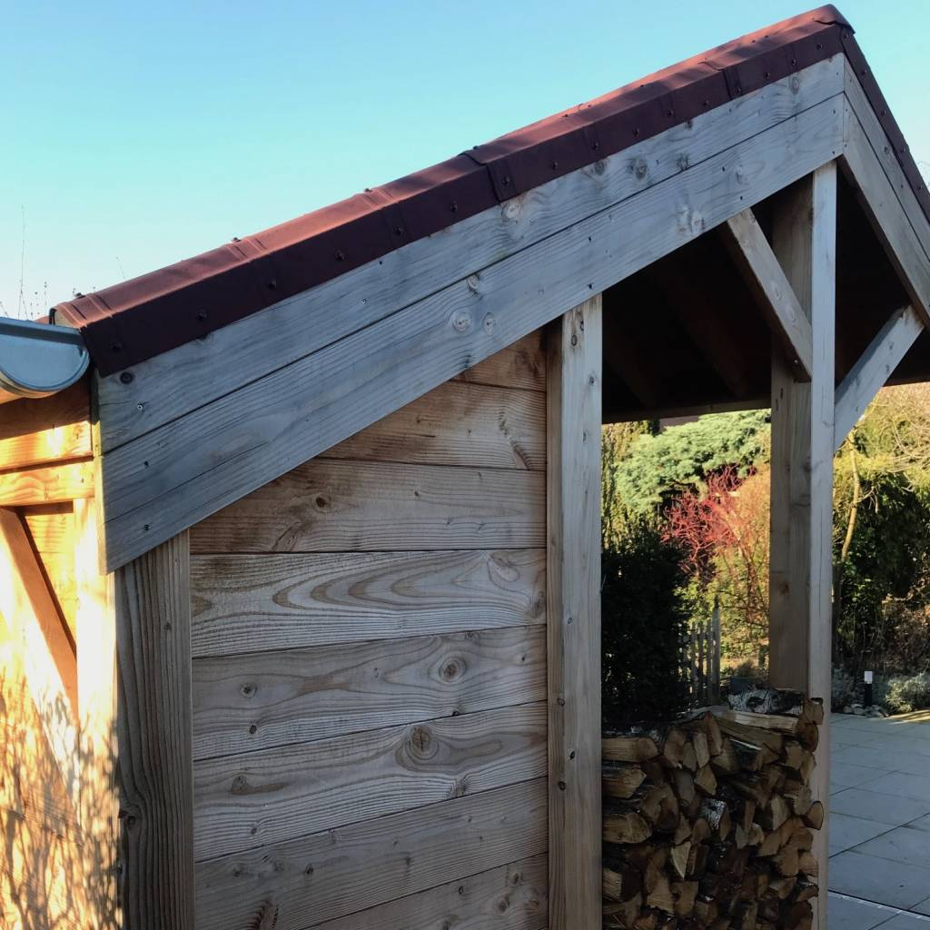 Douglas vellingdeel 28x185mm - geschaafd en gedroogd 20% douglas hout