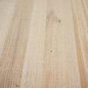 Eiken blad rustiek 3 cm dik fijnbezaagd / ruw (1 plank) OP MAAT - Meubelblad / paneel 8-12% kd Europees eikenhout