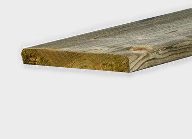 Vuren planken geïmpregneerd