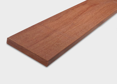 Hardhout planken geschaafd