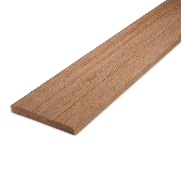 Keruing (2-groefs) plank 16x145mm - geschaafd hardhout ad