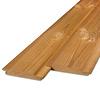 Thermowood grenen channelsiding rabat 21x125mm - geschaafd - kunstmatig gedroogd (kd 8-12%) - thermisch gemodificeerd grenen hout (thermohout)