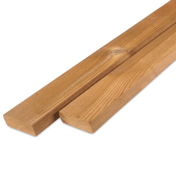 Thermowood grenen rhombus deel 21x68mm - geschaafd - kd (8-12%)