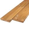 Thermowood grenen rhombus deel - profiel - plank 21x143mm - geschaafd - kunstmatig gedroogd (kd 8-12%) - thermisch gemodificeerd grenen hout (thermohout)