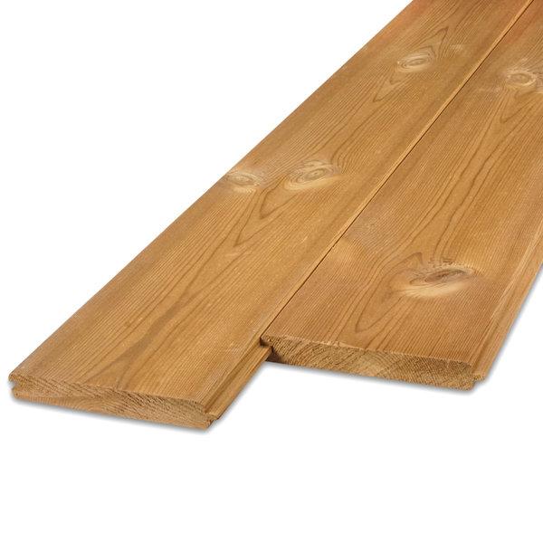 Thermowood grenen vellingdeel (T&G) 21x143 mm - geschaafd kd (8-12%)