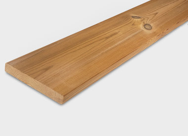 Thermowood planken geschaafd