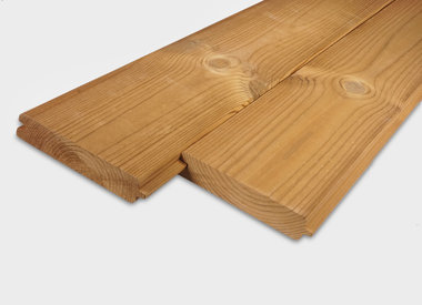 Thermowood tand & groef planken