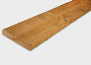 Thermowood planken fijnbezaagd (ruw)