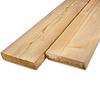 Siberisch lariks rhombus deel - profiel - plank 28x143mm -  Geschaafd en gedroogd  (kd 18-20%)