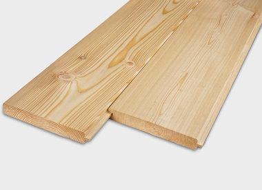 Lariks tand & groef planken