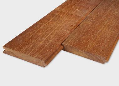 Hardhout tand & groef planken