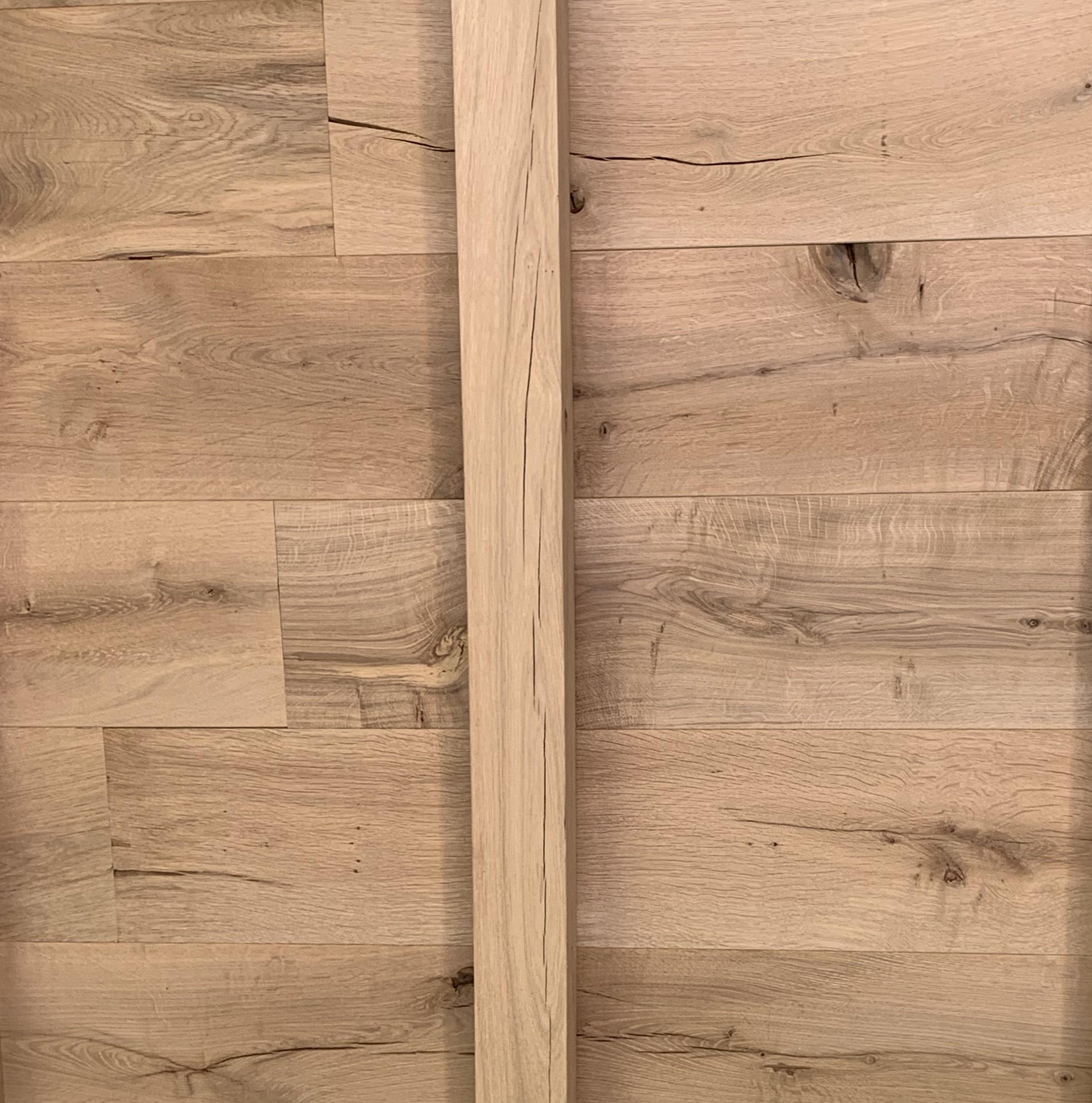 Eiken vellingdeel met kopse T&G 21x190 mm - Geschaafd en kunstmatig gedroogd Eikenhout