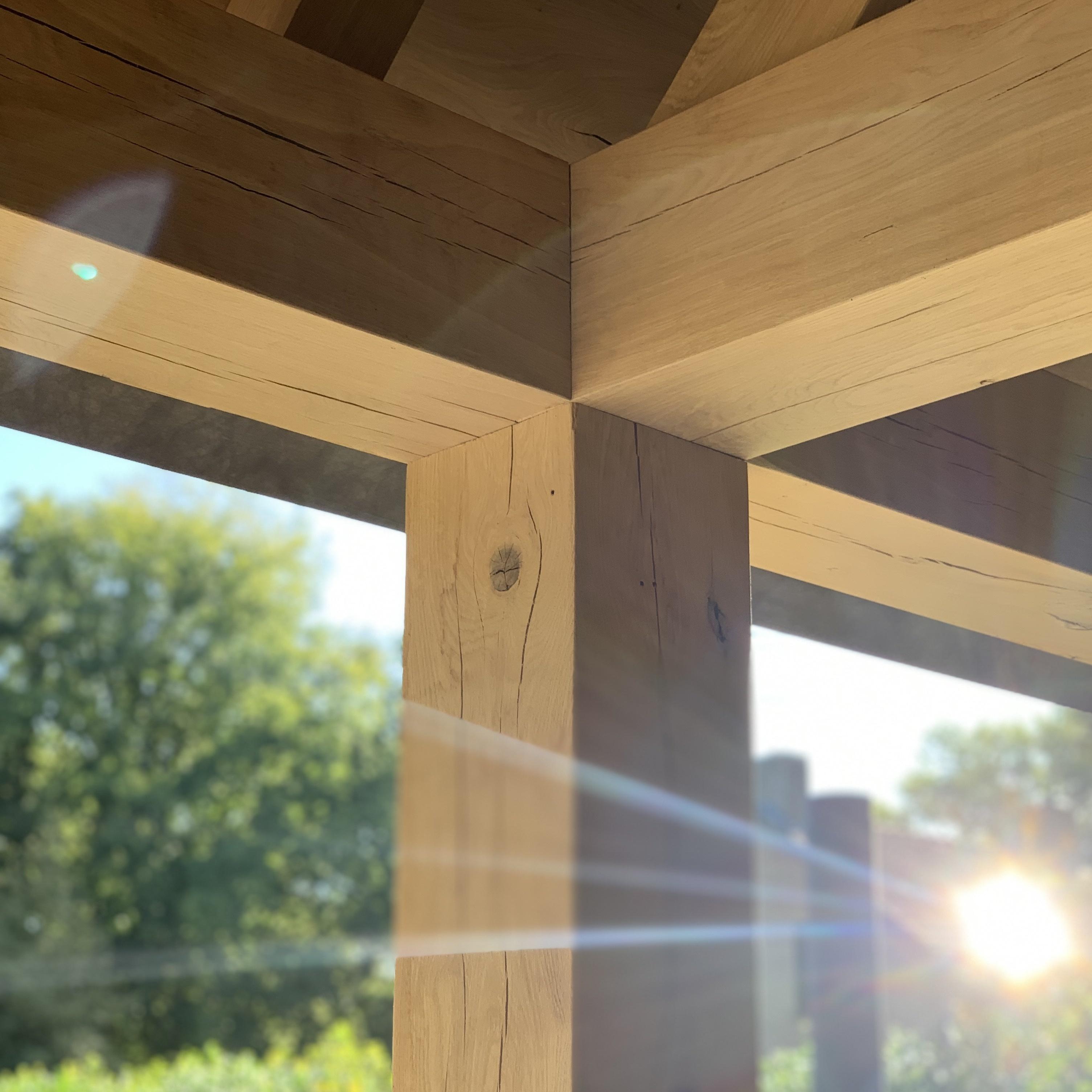 Eiken balk 70x240mm - Geschaafd Eikenhout - vanaf 100 cm