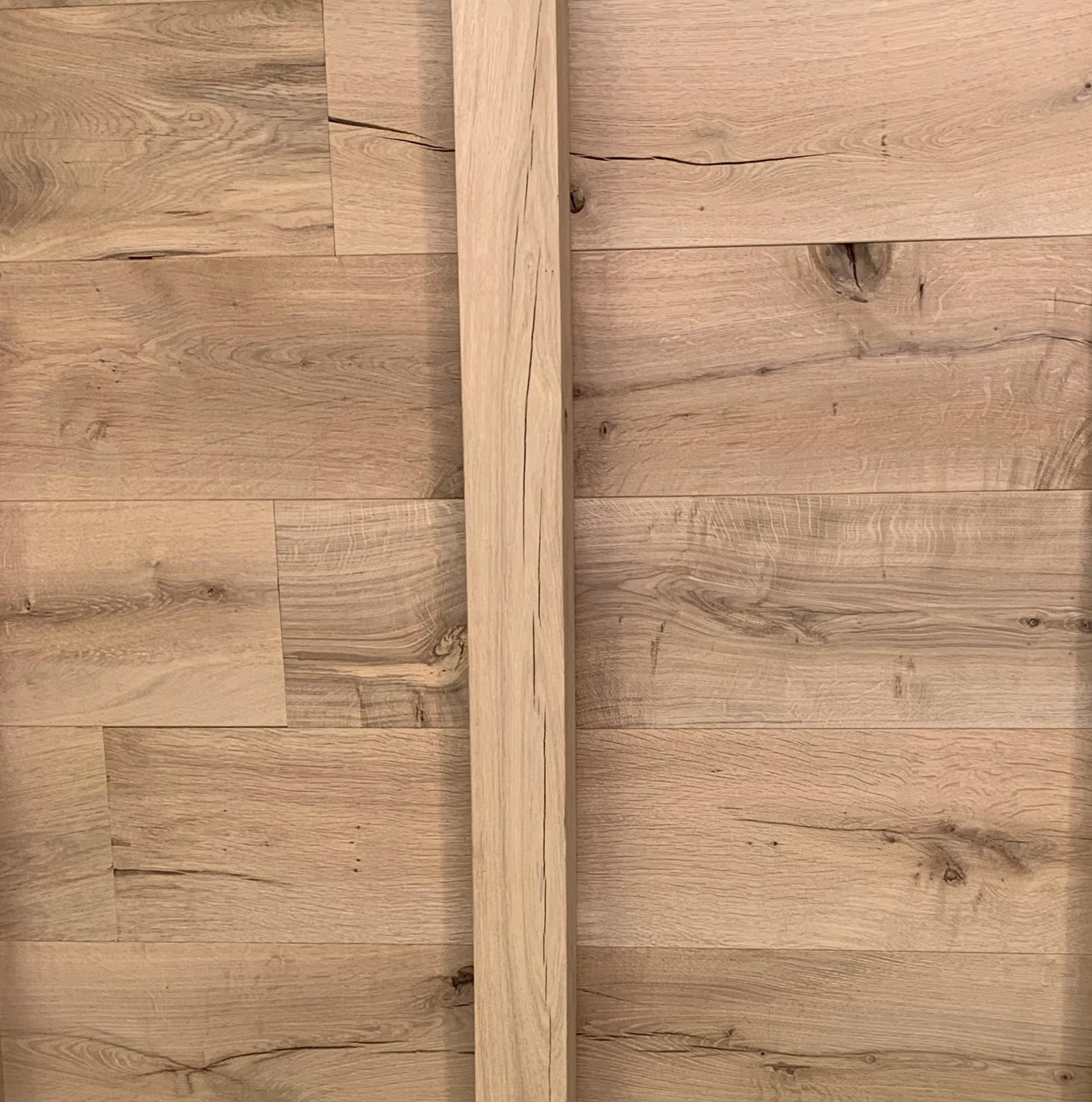 Eiken vellingdeel met kopse T&G 21x160 mm - Geschaafd en kunstmatig gedroogd Eikenhout