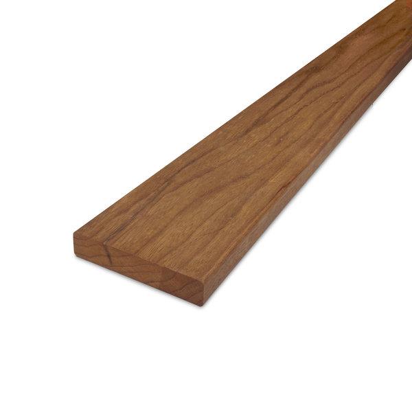 Thermowood fraké plank 21x70mm -geschaafd