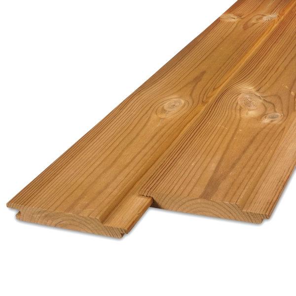 Thermowood grenen channelsiding rabat 21x175 mm - geschaafd - kd (8-12%)