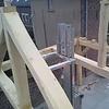 Oude eiken balk 45x140mm - Kanten (af)geschaafd - rustiek eiken - aangedroogd (AD) 20-25 % eikenhout - voor buiten