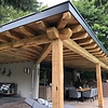 Oude eiken balk 45x60mm - Kanten (af)geschaafd - rustiek eiken - aangedroogd (AD) 20-25 % eikenhout - voor buiten
